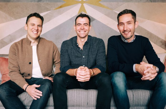 Зліва направо: співзасновник Instagram Майк Крігер, новий керівник Адам Моссері, співзасновник Кевін Сістром. Фото: instagram-press.com