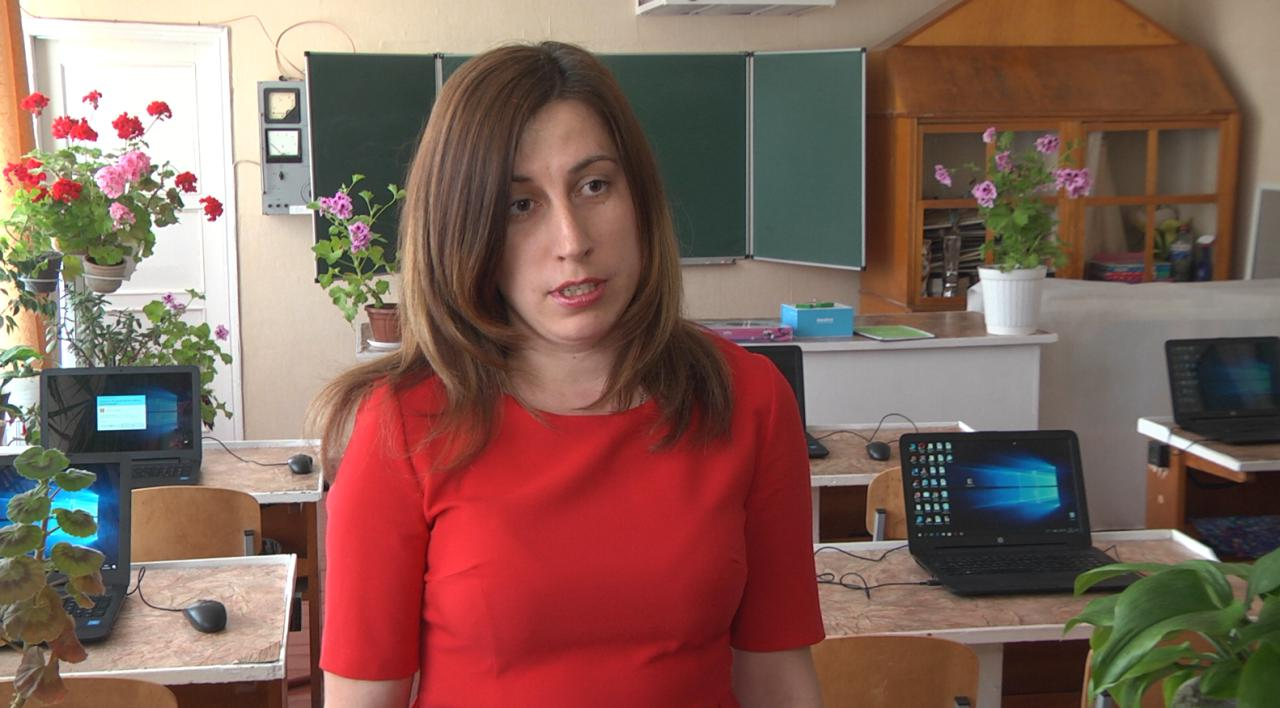 Вчитель інформатики Наталія Щербак