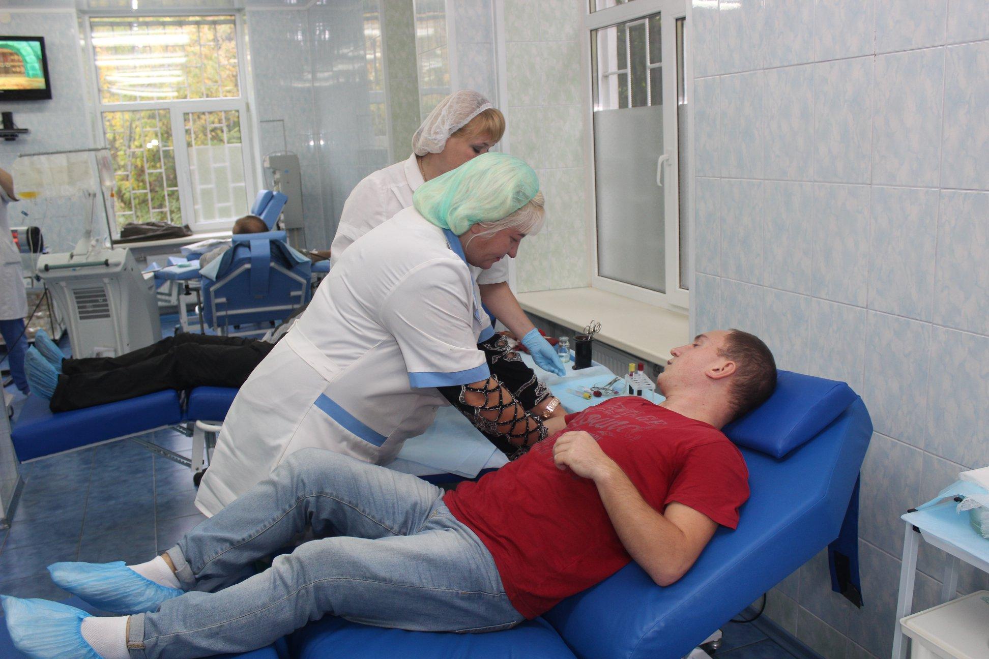 У Полтаві розпочалась акція донорства крові
