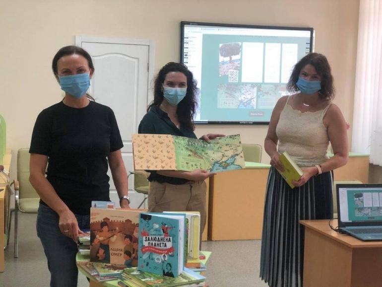 У Полтаві презентували історичні видання нового формату для дітей і підлітків